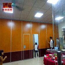 连云港活动隔断移动屏风隔音墙可推拉折叠门造价图片
