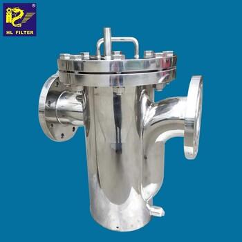 輝龍過濾籃式管道過濾器ss304不銹鋼工業過濾液體濾器