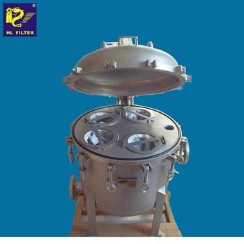 輝龍過濾多袋式過濾器不銹鋼袋式過濾器大流量袋式過濾器