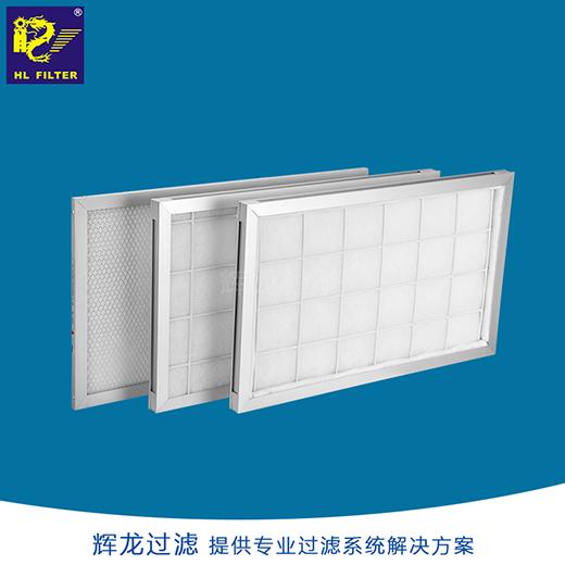 厂家G3平板式空调过滤网初效过滤器g4洁净室过滤器工厂定制
