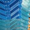 供应蓝色S波填料大型开放式逆流塔波形填料