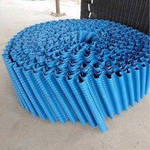 玻璃钢冷却塔填料圆形冷却塔填料逆流塔填料祥庆填料批发厂家图片