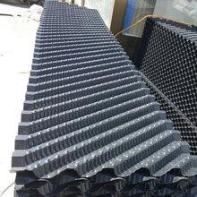 生产冷却塔填料、凉水塔填料斜折波填料除雾器污水填料图片