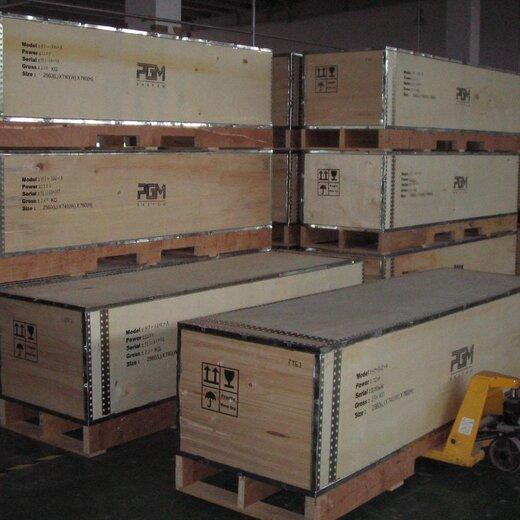 钢带木箱图