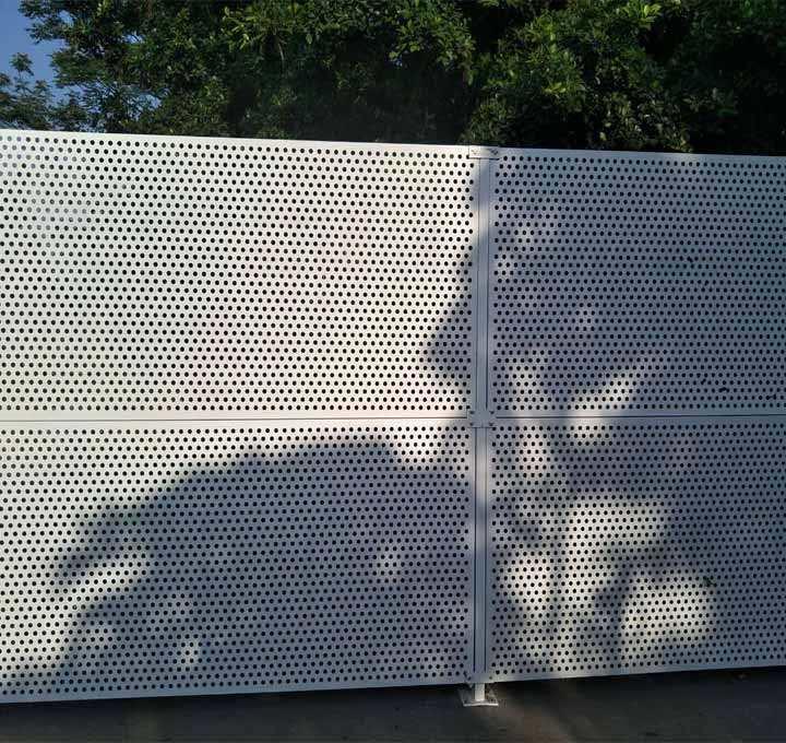 惠州市施工沖孔圍擋用途
