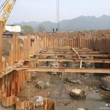 出租建筑钢板桩,惠州市生产钢板桩规格齐全图片