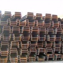 二手钢板桩租赁,拉森钢板桩图片