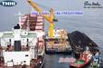 二手过驳浮吊出售2020年在建28方双250,315沿海过驳浮吊船