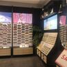 2020新款畅销眼镜陈列柜多款式多材质展示柜可选