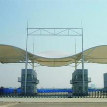 南京户外膜结构门头批发价格图片