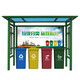 垃圾分类回收亭图