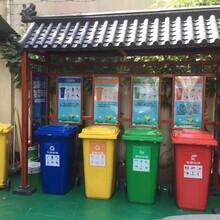 萍乡垃圾分类亭的作用造型美观,垃圾分类屋图片