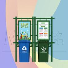 衡阳公交站垃圾分类亭样式优雅,垃圾分类屋图片