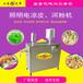 乘凉的美食凉糕机传统小吃酸辣粉机