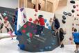 兒童室內攀巖墻廠家戶外拓展攀爬組合滑梯親子餐廳挑戰攀巖墻兒童游樂設施定制