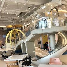 室内外大型不锈钢滑梯户外景区幼儿园滑梯儿童组合滑梯非标定制不锈钢滑梯厂家