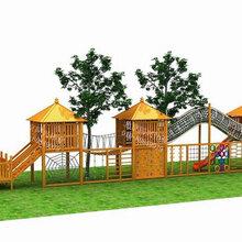 室外景区不锈钢滑梯木质儿童玩具滑梯小区公园户外滑梯厂家儿童乐园滑滑梯定制