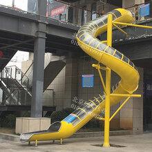 大型户外非标定制滑梯不锈钢成人滑梯观光旅游无动力游乐设备儿童不锈钢滑梯