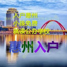 2020年惠州入户条件汇总图片