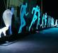運動員炫彩造型燈美陳燈光亮化裝置運動用品