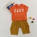 羅萊兒童夏季兒童新款套裝品牌折扣童裝品牌童裝折扣市場
