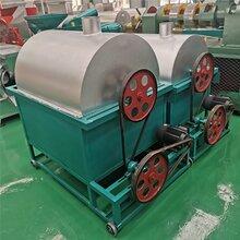 金诺威1000斤餐厨垃圾滚筒烘干机高湿物料燃气加热烘干设备图片