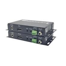 小鱼视频DP超高清视频光端机,DP光纤收发器,DP光纤延长器图片