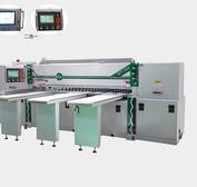 珠海树脂板全自动裁切机电子开料锯数控倒角机分板机