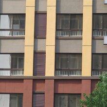 山东锌钢百叶窗厂家锌合金防雨百叶窗规格厂家直销图片