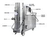 脈沖工業吸塵器,可吸大分子粉塵,吸塵吸水,自動清灰