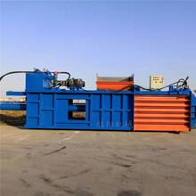臥式液壓海綿打包機120噸稻草打包機生產廠家圖片