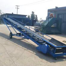 河南厂家定制食品级皮带输送机电子厂运输线输送机PVC皮带输送机图片
