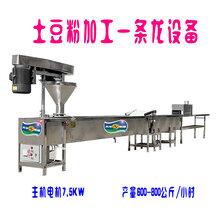 优质大型商用土豆粉机电动粉耗子机流水线图片