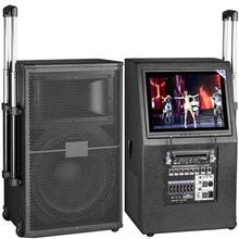 重庆12寸视频拉杆音响价格图片