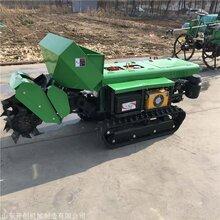 小型履帶開溝施肥機自走式開溝機35馬力多功能旋耕機圖片