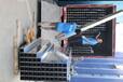 海南定安工廠防火梯式鍍鋅電纜橋架鋁合金不銹鋼熱浸鋅線槽
