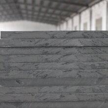 灰色PVC硬板耐酸碱高硬度厚工程塑料板材加工垫板批发图片