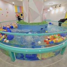 曲靖婴儿游泳池总代直销厂家直销 价格优惠钢化玻璃婴儿游泳池图片