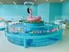 崇左婴儿游泳池规格齐全钢化玻璃婴儿游泳池