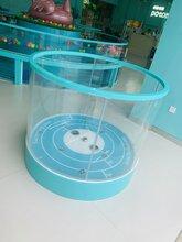 萌贝湾钢化玻璃婴儿游泳池梧州婴儿游泳池价格实惠图片