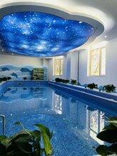 高陽縣嬰幼兒透明游泳池價格鋼化玻璃游泳池廠家直銷圖片