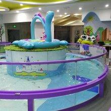 臺州嬰兒鋼化玻璃游泳池寶寶游泳池設備廠家圖片