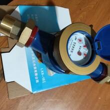 海寧市40口徑帶絲囗橫式水表批發價格圖片