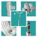 向阳街道水平轴风力发电机控制系统简单20kw风力发电机