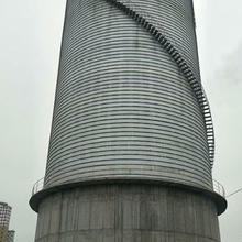 梧州粉煤灰钢板库设计图片