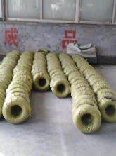 厂家供应磷化钢丝土工格栅钢丝图片