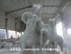三羊开泰石雕像的寓意,羊群组合石雕塑,羊一家石雕