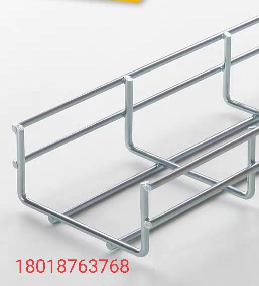 广东金属网格式桥架,机房网格桥架布线,电镀热浸锌网格桥架