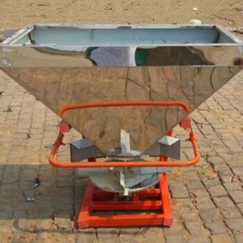 新款全自动农田撒肥机大型农场撒肥机拖拉机悬挂式化肥撒播机