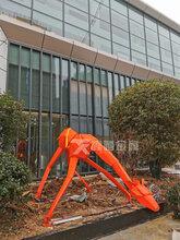 几何动物雕塑不锈钢长颈鹿雕塑房地产主入口景观雕塑摆件